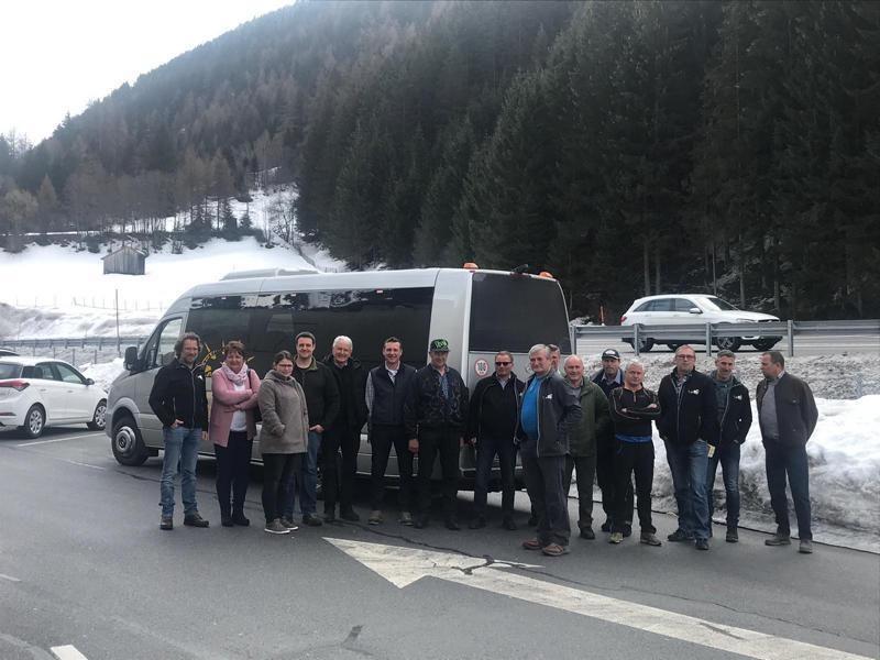 Die Teilnehmer. Busfirma Dödlinger aus Fieberbrunn