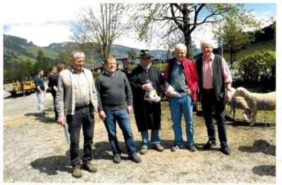Preisrichter: Köck Gerhard, Dengg Bernhard, Amplatz Helmut, Erich Wolf und Obmann Josef Krall